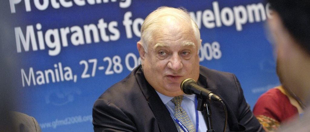 Peter Sutherland is a former Attorney General of Ireland, a non-executive chairman of Goldman Sachs International, and a former chairman of oil giant BP. He has also attended meetings of The Bilderberg Group. Pope Francis has appointed Sutherland as an adviser to the Administration of the Patrimony of the Holy See, which manages the Vatican's investment and property portfolios, and he is on the advisory board of Opus Dei's flagship graduate business school.