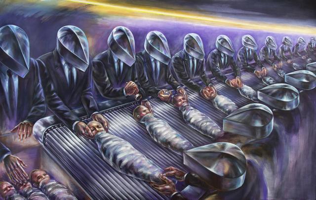 Standardisering av menneskeliv. Artist: Albina Kumirova