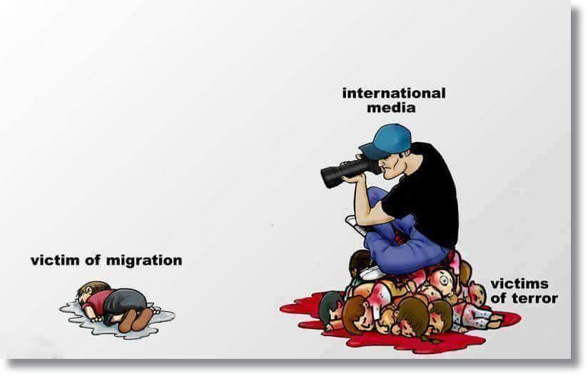 Om dette dreide seg om en familie som flyktet fra Gaza, ville gutten da havnet på førstesidene?