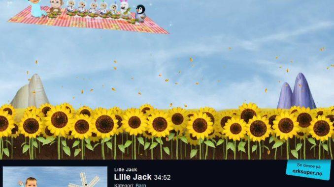 Min favoritt: Lille Jack på NRK. Det er simpelthen ikke mulig å finne en eneste episode som ikke er stappfull av sublim chemtrailsprogrammering. Nesten HVER ENESTE SCENE i HVER EPISODE er forpestet med denne type indoktrinering.