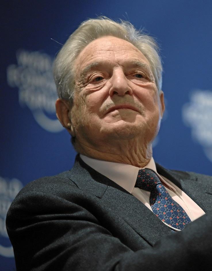 GEORGE SOROS. Den ungarskfødte mangemilliardæren ønsker å øke masseinnvandringen til Europa.