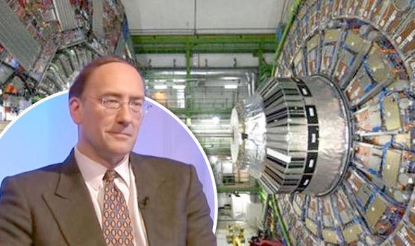Partikkelakseleratoren LHC (Large Hadron Collider) i Genève