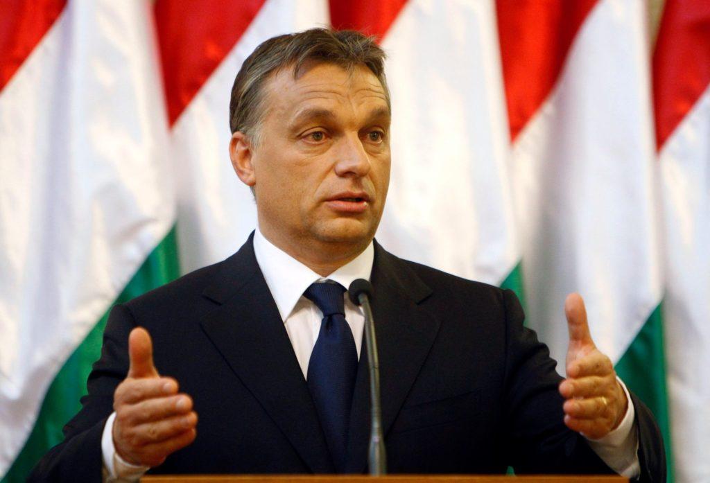 VICTOR ORBAN. Ungarns statsminister mener at forrædere og landssvikere på venstresiden ønsker å ødelegge Europa og de europeiske folkeslagene.