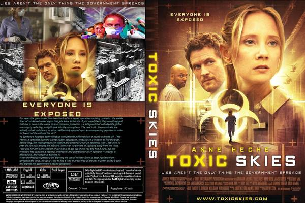 Anne Heche stars as a World Health Organization Doctor who uncovers the real cause of an epidemic is the government's secret chem-trail program. http://www.imdb.com/title/tt1414863/