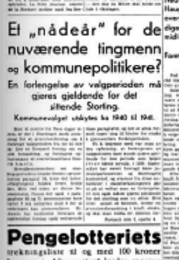 Aftenposten Aften publisert 11. februar 1938