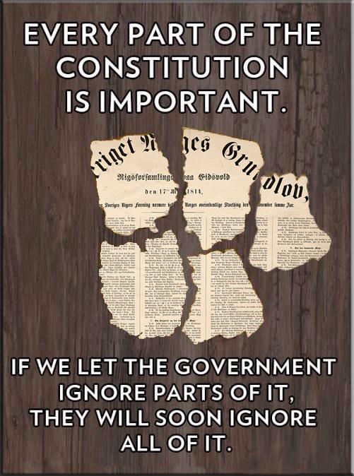 Et typisk kjennetegn på Arbeiderpartiets fleste regjeringer gjennom historien, de glemmer at også de er bundet til å følge grunnloven.