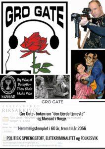 """GRO GATE - Historien om """"den fjerde tjeneste"""" og Mossad i Norge"""