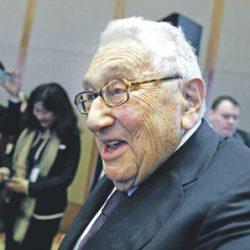 Anglosionisten Heinz Alfred Kissinger, født 1923 i Bayern, Tyskland