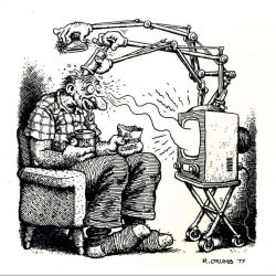 Fjernsynet, den mektigste propagandamaskin, ever.