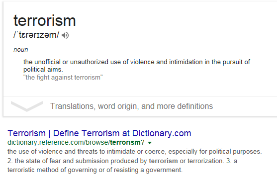 terrorizem