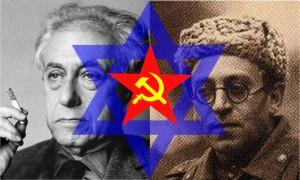 Kommunist-jødiske heatsprederdemoner, Ilya Ehrenburg og Vassily Grossman.