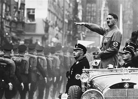 Adolf Hitler becomes Chancellor of Germany in 1933. Jews immediately seek his complete destruction.