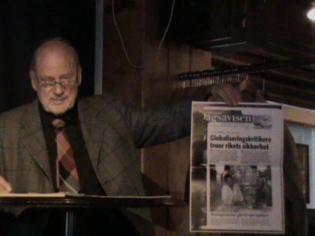 Per-Aslak Ertresvåg viser Dagsavisen hvor Jørn Holme formidler dypstatens hat mot demokratiske aktivister
